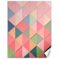 Background Geometric Triangle Canvas 12  X 16