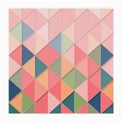 Background Geometric Triangle Medium Glasses Cloth