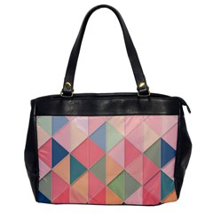 Background Geometric Triangle Office Handbags