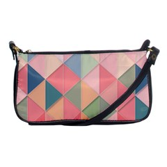 Background Geometric Triangle Shoulder Clutch Bags