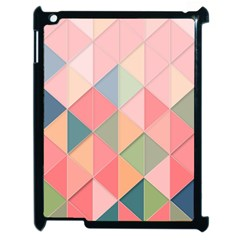 Background Geometric Triangle Apple Ipad 2 Case (black)
