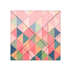 Background Geometric Triangle Acrylic Tangram Puzzle (4  X 4 ) by Nexatart