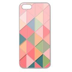 Background Geometric Triangle Apple Seamless Iphone 5 Case (clear)
