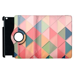 Background Geometric Triangle Apple Ipad 3/4 Flip 360 Case