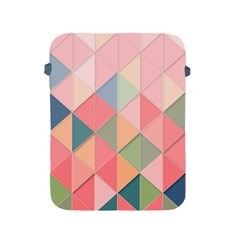 Background Geometric Triangle Apple Ipad 2/3/4 Protective Soft Cases