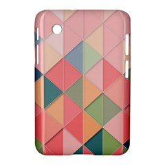 Background Geometric Triangle Samsung Galaxy Tab 2 (7 ) P3100 Hardshell Case