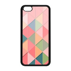 Background Geometric Triangle Apple Iphone 5c Seamless Case (black)