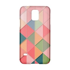 Background Geometric Triangle Samsung Galaxy S5 Hardshell Case