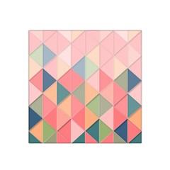 Background Geometric Triangle Satin Bandana Scarf
