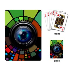 Lens Photography Colorful Desktop Playing Card