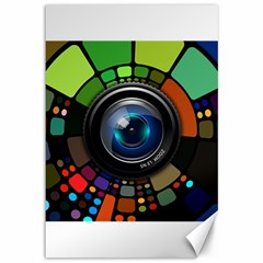 Lens Photography Colorful Desktop Canvas 12  X 18