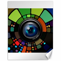 Lens Photography Colorful Desktop Canvas 18  X 24