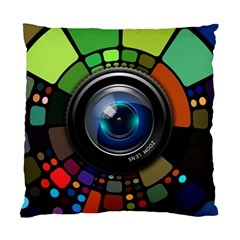 Lens Photography Colorful Desktop Standard Cushion Case (two Sides)