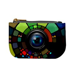 Lens Photography Colorful Desktop Mini Coin Purses