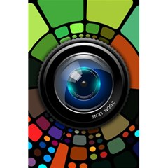 Lens Photography Colorful Desktop 5 5  X 8 5  Notebooks by Nexatart