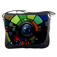 Lens Photography Colorful Desktop Messenger Bags