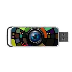 Lens Photography Colorful Desktop Portable Usb Flash (one Side)
