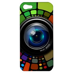 Lens Photography Colorful Desktop Apple Iphone 5 Hardshell Case