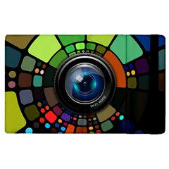 Lens Photography Colorful Desktop Apple Ipad 3/4 Flip Case