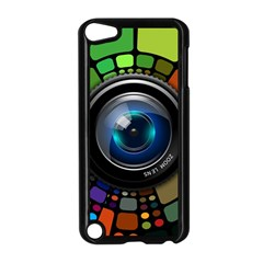 Lens Photography Colorful Desktop Apple Ipod Touch 5 Case (black)