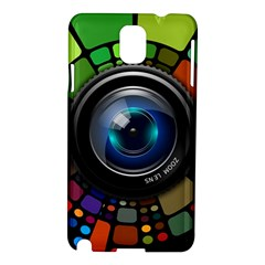 Lens Photography Colorful Desktop Samsung Galaxy Note 3 N9005 Hardshell Case