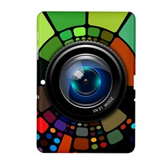 Lens Photography Colorful Desktop Samsung Galaxy Tab 2 (10 1 ) P5100 Hardshell Case