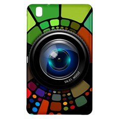 Lens Photography Colorful Desktop Samsung Galaxy Tab Pro 8 4 Hardshell Case