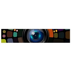 Lens Photography Colorful Desktop Small Flano Scarf