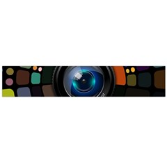 Lens Photography Colorful Desktop Large Flano Scarf