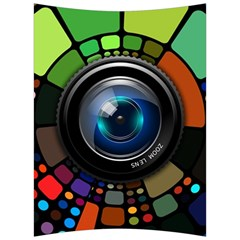 Lens Photography Colorful Desktop Back Support Cushion