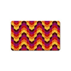 Geometric Pattern Triangle Magnet (name Card) by Nexatart