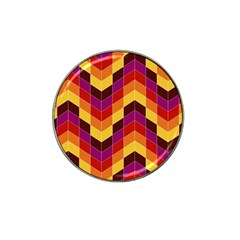 Geometric Pattern Triangle Hat Clip Ball Marker (10 Pack)