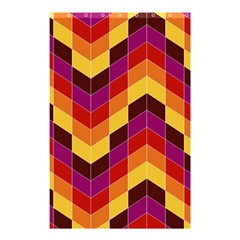 Geometric Pattern Triangle Shower Curtain 48  X 72  (small)  by Nexatart