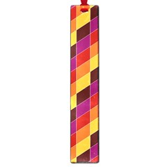 Geometric Pattern Triangle Large Book Marks