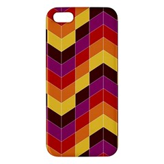Geometric Pattern Triangle Apple Iphone 5 Premium Hardshell Case