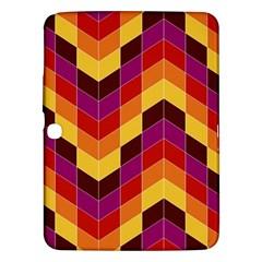 Geometric Pattern Triangle Samsung Galaxy Tab 3 (10 1 ) P5200 Hardshell Case