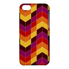 Geometric Pattern Triangle Apple Iphone 5c Hardshell Case