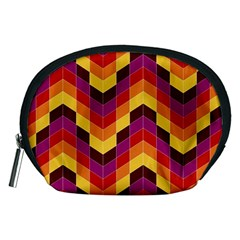 Geometric Pattern Triangle Accessory Pouches (medium)
