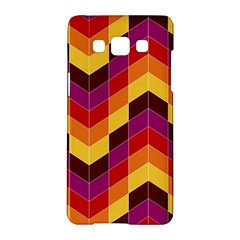 Geometric Pattern Triangle Samsung Galaxy A5 Hardshell Case