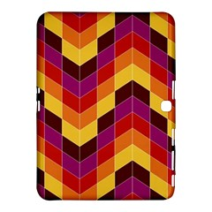 Geometric Pattern Triangle Samsung Galaxy Tab 4 (10 1 ) Hardshell Case