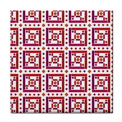 Background Abstract Square Tile Coasters