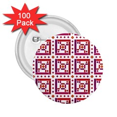Background Abstract Square 2 25  Buttons (100 Pack)