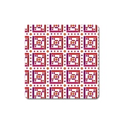Background Abstract Square Square Magnet
