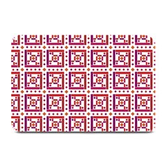 Background Abstract Square Plate Mats by Nexatart