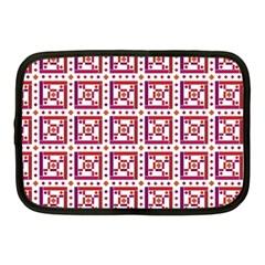 Background Abstract Square Netbook Case (medium)