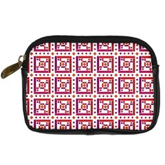 Background Abstract Square Digital Camera Cases