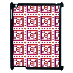 Background Abstract Square Apple Ipad 2 Case (black)