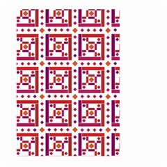 Background Abstract Square Large Garden Flag (two Sides)