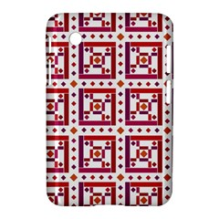 Background Abstract Square Samsung Galaxy Tab 2 (7 ) P3100 Hardshell Case