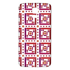 Background Abstract Square Samsung Galaxy S5 Back Case (white)